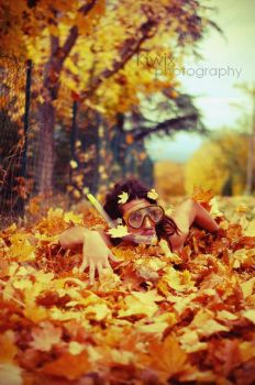 Bain d'automne by eulalievarenne