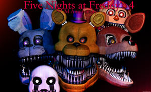 FNAF 4 Anniversary! by GamesProduction