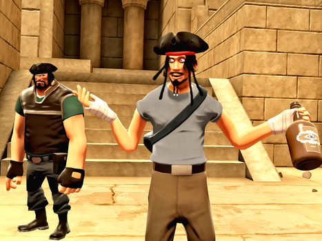 Pirates of the Team Fortress 2 by MrComrade