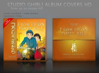 From Up on Poppy Hill Album Covers HD by shinobireverse