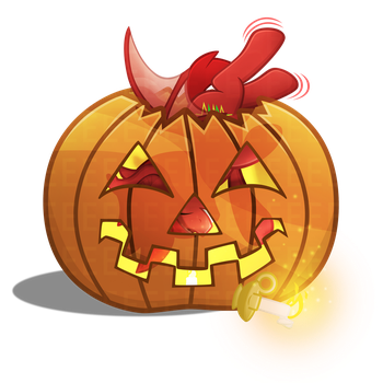 AWal Pumpkin Vector [Commission] by Sol-Republica