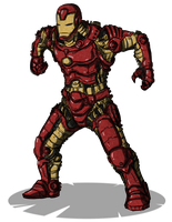 my IronMan by Stachir