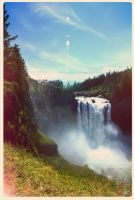 Snoqualmie Falls by ChemicalAlia