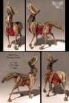 Devil Claw holwing wolf 2 by ART-fromthe-HEART