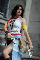 Let the Feinds come! - Yuna FFX-2 cosplay by BanditsSpurs