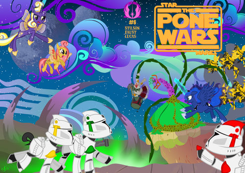 The Pone Wars #6: You Smooze You Looze, Part I by ChrisTheS