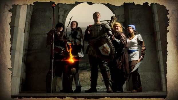 Heroes of Thedas by mrbob0822