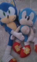 Sonic and his other little bro! by Clemontiscute123