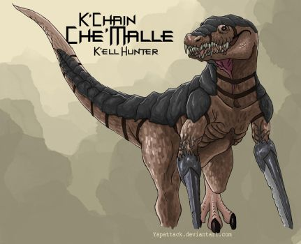 K'chain Che'malle: Kell Hunter by YapAttack