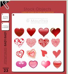 Object Pack - Lovu Lovu by iMouritsa