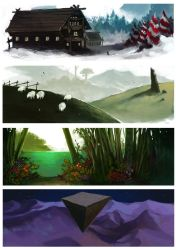 Landscapes by Anubish