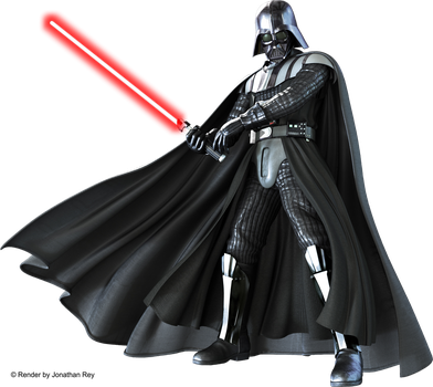Star Wars Darth Vader - Render PNG by jonathanrey