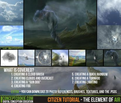 Citizen Tutorial - The Element of Air by CGCookie