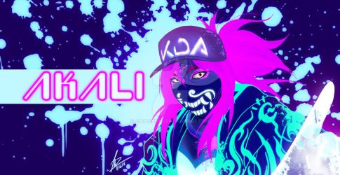 AKALI...ReSPECTs by siamgxIMA