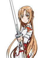 Sword Art Online - Asuna by Megalomaniacaly
