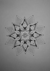 Mandala tattoo design #2 by MadPorcupine