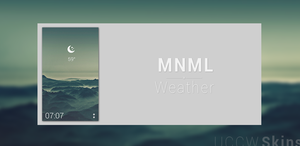 MNML Weather by AlexJMiller