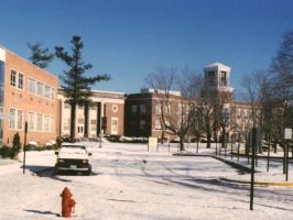 Concord College in Winter by AndrewT