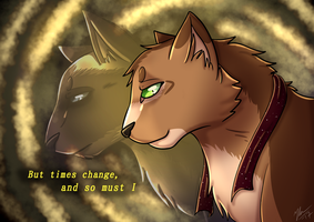 Times changes, and so must I (+Speedpaint) by Blarien