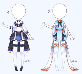 {Open 2/2} Auction Outfit 309 - 310 by xMikuChuu