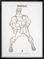 Walt Disney's Signature Collection - HERCULES by davidkawena