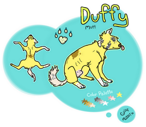 duffy 'epic mutt character' by Midnightxo