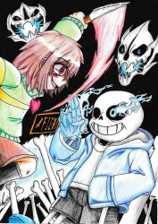 Undertale - It's Too Late For Apologies by mkf2308