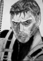 Chris Redfield  by Shadow12177