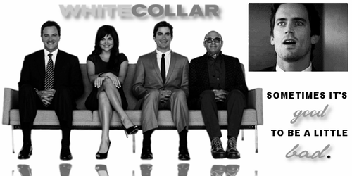 White Collar Banner 01v2 by CamelotDesigns