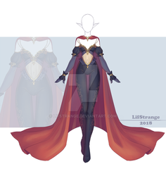 [Close] Adoptable Outfit Auction 242 by LifStrange
