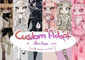 Custom Adopt Auction 1! [CLOSED] by Cyleana