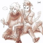 Alfyn and Therion by peo9411