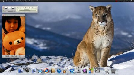 OS X Mountain Lion by anggaFSP