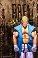 Abel The Street Fighter by Fdjohan19