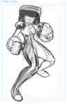 Garnet Commission WIP by DRMoore