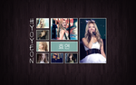 Tile WP: Hyoyeon by Ninquo