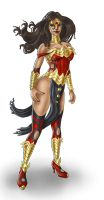 The Wonder Woman by The-Mirrorball-Man