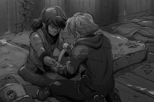 TLOU [au] | bandages // by rosiesinner