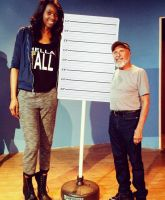 Tall comedian by lowerrider