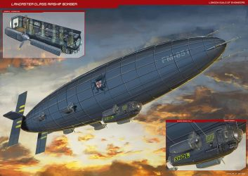 Lancaster Airship Bomber by Magnum117