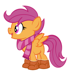 By Request- Scootaboots/ Bootaloo by PixelKitties