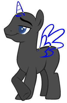 Oh Look, a Stallion (MLP base) by Priest-Bases