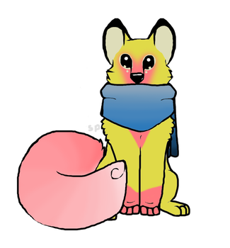 Egg 23.5 hatched for Blizzard7209 by asherthecrimsonfox
