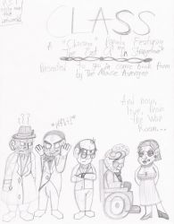 DS: Class Parody Comic, Cover by MouseAvenger