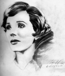 Julie Andrews finished by carlotta-guidicelli