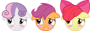 CMC blushing by namelesshero2222