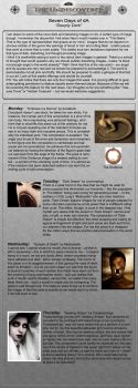 Issue 5- 7 Days of dA by The-Undiscovered