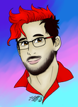 markiplier Colored by YukiKatsumi