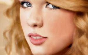 Taylor Swift Painting by pinksov