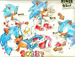 Sonic22nd by chippuuuu